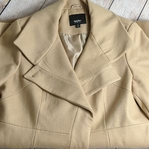 mossimo Tan wool coat